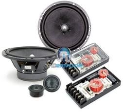 "165A1 SG - Focal 6.5"" 120 Watts 2-Way Component Speakers Sys"