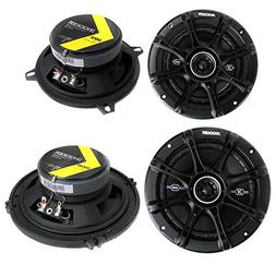 "Kicker 5.25"" 200W  + Kicker 6.5"" 240W 2-Way Car Coaxial Spea"