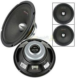 "2 8"" 400 Watts Midrange Bullet Loud Speaker 4 Ohm Car Audio"