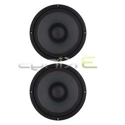 "2) AUDIOPIPE APMB8 8"" 1000W Low/Mid Bass Frequency Loudspeak"