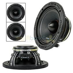 "2 Orion Audio 6.5"" HCCA Mid Range Loud Speakers Pair 1800 Wa"