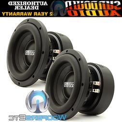 "SUNDOWN AUDIO E-8 V.5 D2 8"" SUBS 300W RMS DUAL 2-OHM CAR SU"