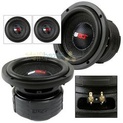 "2 DS18 Elite Z6 6.5"" Subwoofer Dual 4 Ohm 600 Watts Max Bass"