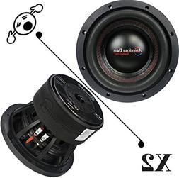 "2 NEW American Bass HD844 8"" 4 Ohm 1600W MAX Dual 800W RMS C"