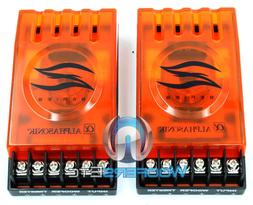 ORANGE 2-WAY PASSIVE CROSSOVERS FOR CAR STEREO + HOME AUDIO