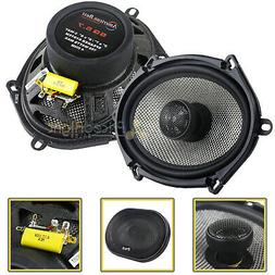 """2 Pack American Bass 6x8"""" 2 Way Coaxial Car Stereo Speakers"""