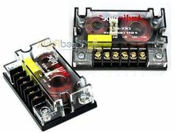 2 Audiopipe Passive 2 Way Car Audio Crossover / Two-Way Spea