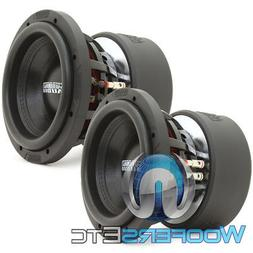 "SUNDOWN AUDIO X-8 V.3 D2 8"" 800W RMS DUAL 2-OHM SUBWOOFERS"