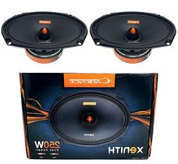 2x Cadence Audio XM694Vi Mid Range Car Stereo Speaker 4 ohm