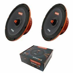 "2x Cadence XM88Vi 500W 8"" Fullrange Bullet 8 Ohm Vocal Car A"