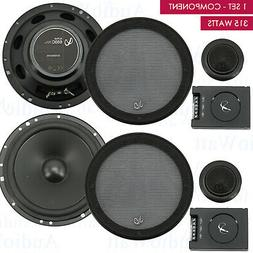 "Infinity 315 Watts 6-1/2"" 2-Way Pro Car Audio Component Spea"