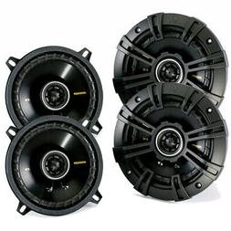 "4) New Kicker 40CS54 5.25"" 450W 2-Way Car Coaxial Speakers S"