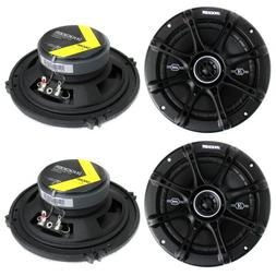 "4) Kicker 41DSC654 D-Series 6.5"" 480 Watt 2-Way 4-Ohm Car Au"