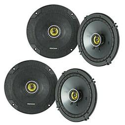 "4 Kicker CS Series 6.5"" 600W RMS 2-Way Coaxial Car Speakers,"