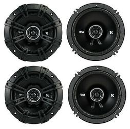 4 Kicker 43DSC6504 6.5 200 Watt 2 Way 4 Ohm Car Audio Coaxia