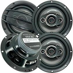 "Pairs Audiobank 6.5"" 400 Watts 4-Way Car Audio Stereo Coaxi"