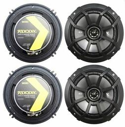 "-4- Kicker CS Series 6.5"" 2-Way Coaxial Car Speakers, 43CSC6"