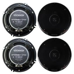 "4) New Kenwood KFC-1695PS 6.5"" 640 Watt 3-Way Car Audio Coax"