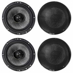 """American Bass SQ 6.5"""" 80w RMS Car Audio Speakers with Neo S"""