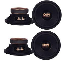"4) Pyramid W64 6.5"" 800 Watt Car Audio Midrange/Mid Bass Pol"