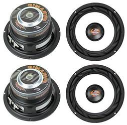 """4) NEW PYRAMID WX65X 6.5"""" 1200W Car Audio Subwoofers Subs Po"""
