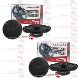 "4 x BRAND NEW PIONEER 6.5-INCH 6-1/2"" CAR AUDIO 2-WAY COAXIA"