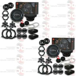 """4 x JBL GTO609C 6.5"""" CAR AUDIO 2-WAY COMPONENT SPEAKER SYSTE"""