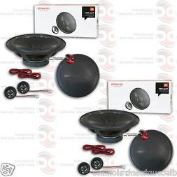 """4 x JBL Stage600C 6.5"""" CAR AUDIO 2-WAY COMPONENT SPEAKER SYS"""