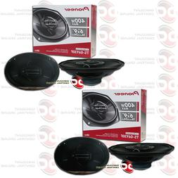 4 x PIONEER TS-G6930F 6 x 9-INCH CAR AUDIO COAXIAL 3-WAY SPE