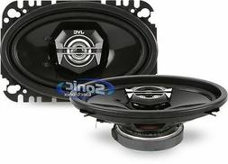"JVC 40W RMS 4"" x 6"" 2-Way DRVN Series Coaxial Car Stereo Spe"