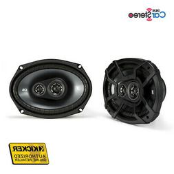 "Kicker 43CSC6934 Speakers / 6x9"" 150W  3-Way Car Speakers"