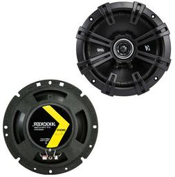 Kicker 43DSC6704 DS Series 6.75-Inch 120W 4 Ohm Coaxial Car