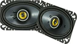 "KICKER 46CSC464 CAR AUDIO STEREO 4X6"" 2-WAY CS SERIES COAXIA"