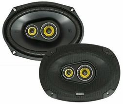 "KICKER 46CSC6934 CAR AUDIO STEREO 6""X9""/6X9 3-WAY CS SERIES"