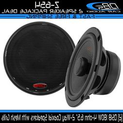 "6.5"" 2 Way Coaxial Speaker System 180 Watts Max Power 4 Ohm"