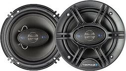 Blaupunkt 6.5-Inch 360W 4-Way Coaxial Car Audio Speaker, Set