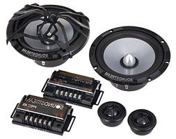 "New Pair Soundstream PC.6 Picasso Series 6-1/2"" 480 Watts MA"