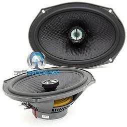 "FOCAL 690CA1 SG 6x9"" 150W RMS 2WAY ALUMINUM TWEETERS ACCESS"