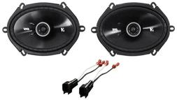6x8 front factory speaker replacement kit