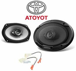 """Kenwood 6x9"""" Rear Factory Car Speaker Replacement Kit For 03"""