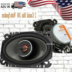 "Jbl - 4"" X 6"" 2-way Car Speakers With Polypropylene Cones  -"