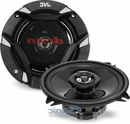 "Jvc - 5-1/4"" 2-way Car Speakers With Carbon Mica Cones  - Bl"