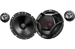"Jvc - 6.69"" 2-way Car Speaker With Carbon Mica Cones  - Blac"
