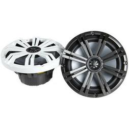 """Kicker - Km 8"""" 2-way Coaxial Marine Speakers With Injection-"""