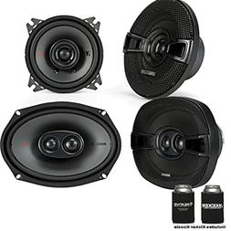 Kicker for Dodge Ram 1994-2011 Speaker Bundle - KS 6x9 coaxi