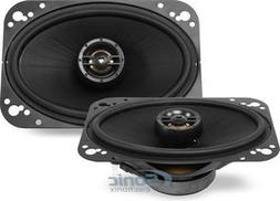 "Polk Audio - 4"" X 6"" Coaxial Speakers With Polymer-composite"