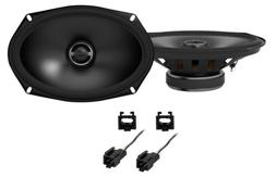 Alpine S Front Factory Speaker Replacement Kit For 2003-2005