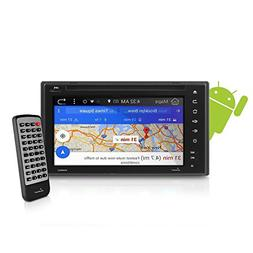 "Premium Lanzar Android 6.5"" Double Din Bluetooth Widescreen"