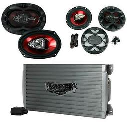 BOSS AUDIO AR1600.4 Armor 1600-Watt Full Range, Class A/B 2-