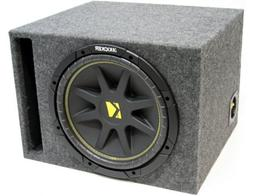 "ASC Package Single 12"" Kicker Sub Box Vented Port Subwoofer"